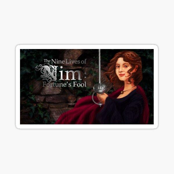 The Nine Lives of Nim: Fortune's Fool Promo Image Sticker