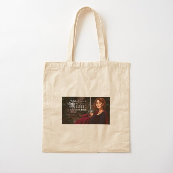 The Nine Lives of Nim: Fortune's Fool Promo Image Cotton Tote Bag