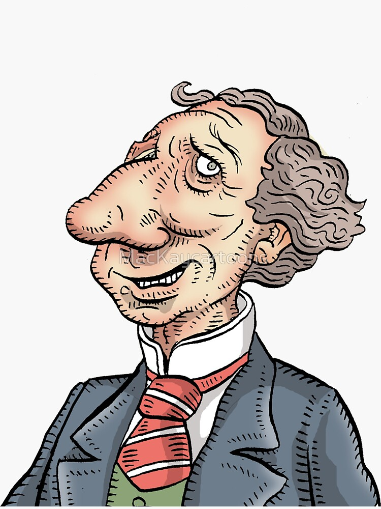 Sir John A. Macdonald by MacKaycartoons