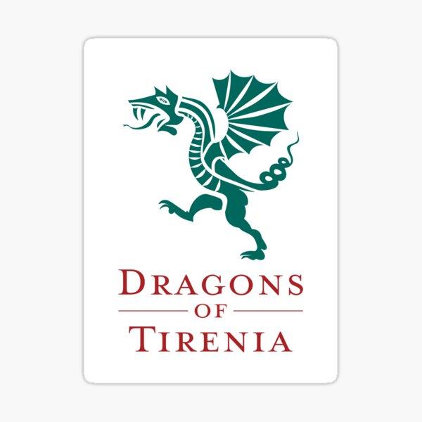 Dragons of Tirenia Main Logo Portrait Sticker