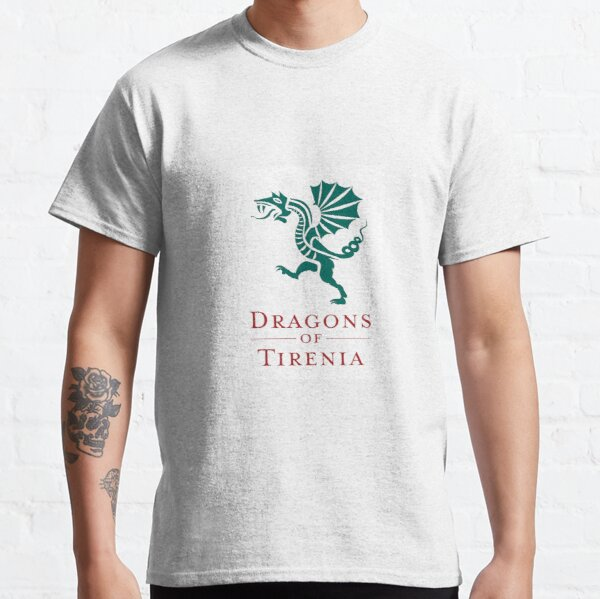 Dragons of Tirenia Main Logo Portrait Classic T-Shirt