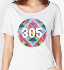 305 miami wynwood walls Women's Relaxed Fit T-Shirt