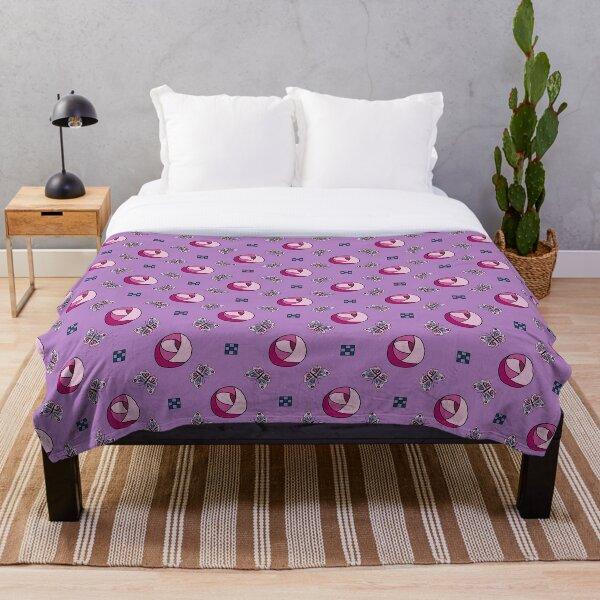 Mac Roses Throw Blanket