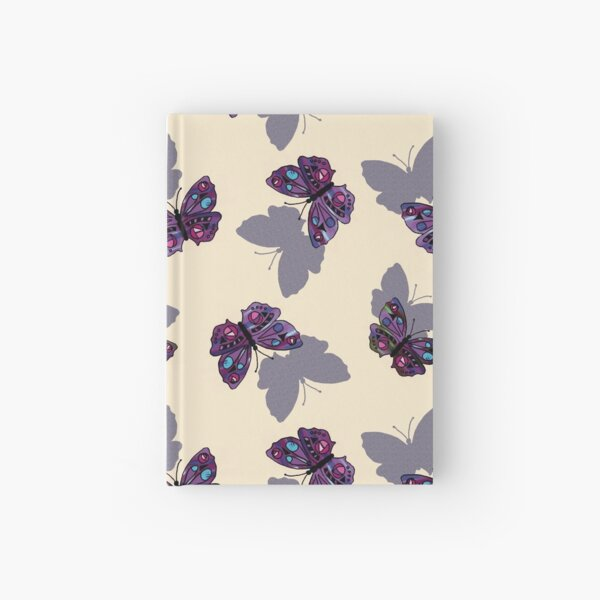Shadow Butterfly Hardcover Journal