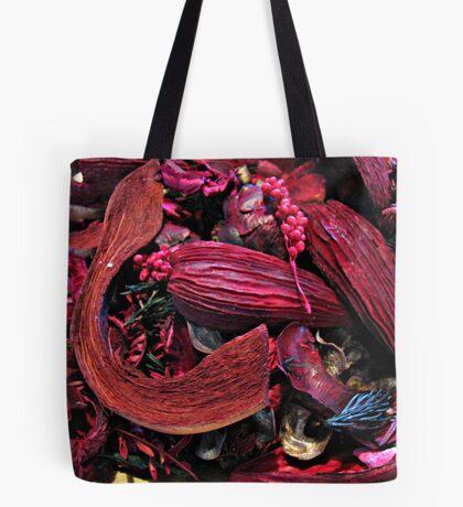 Colour Me Crimson! Pot Pourri Still Life Tote Bag
