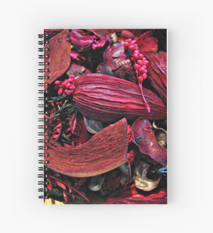 Colour Me Crimson! Pot Pourri Still Life Spiralblock