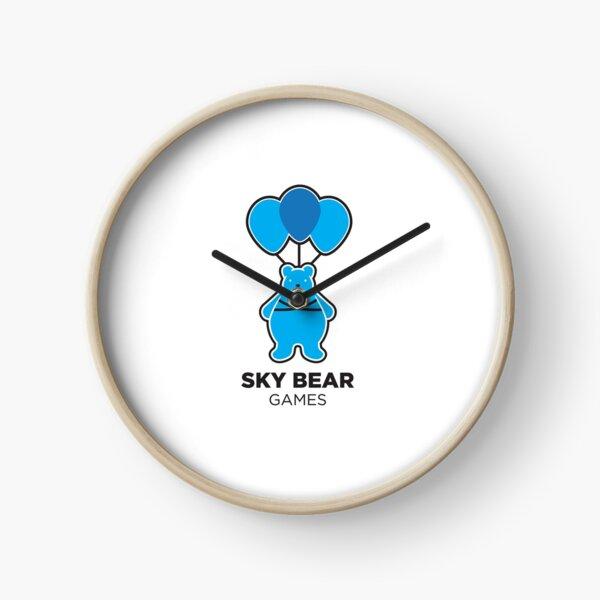 Sky Bear Games Logo Clock