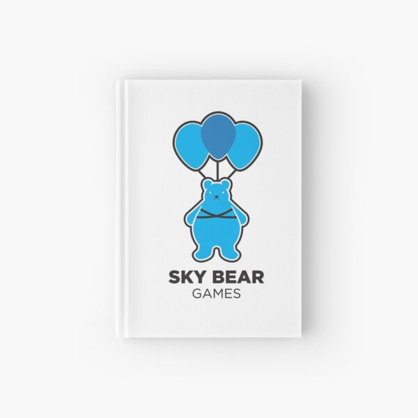 Sky Bear Games Logo Hardcover Journal