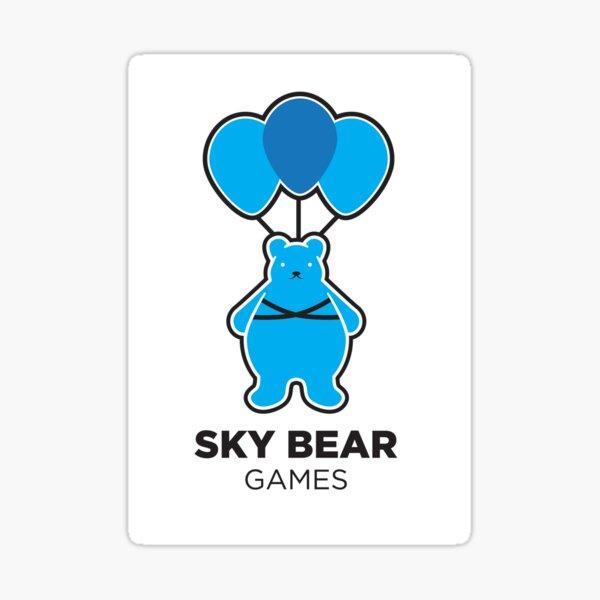 Sky Bear Games Logo Sticker
