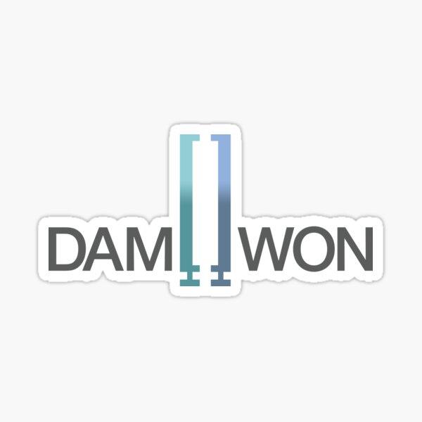 DAMWON Gaming Sticker