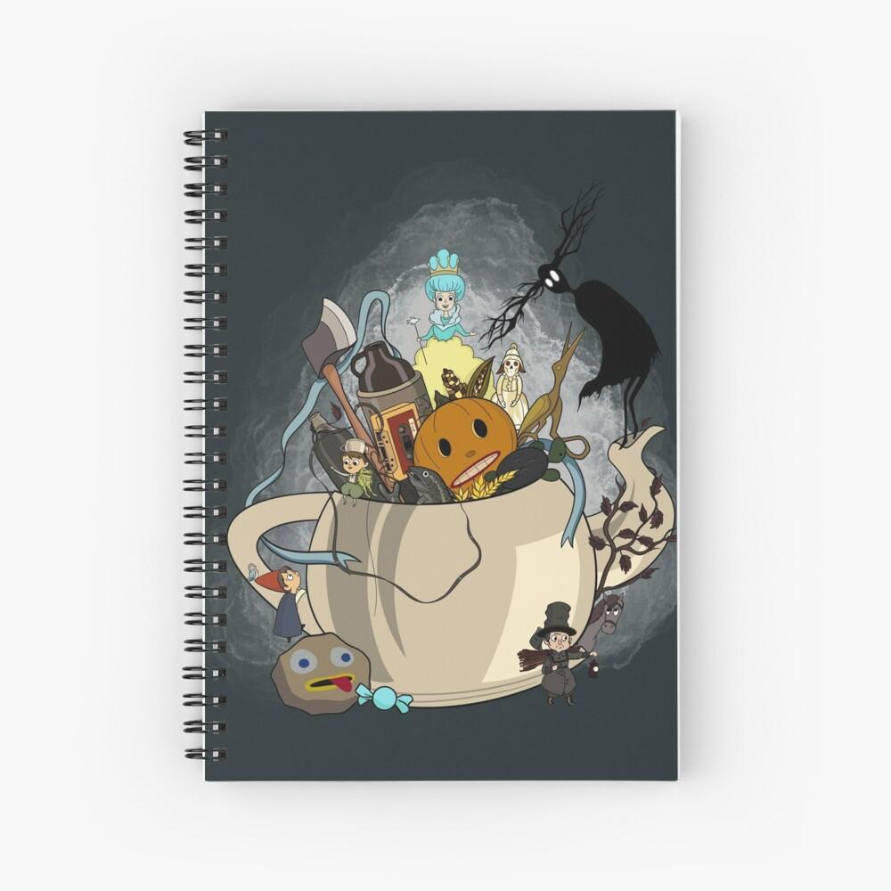 Over the Garden Wall- Greg's Kettle of Adventure Spiral Notebook