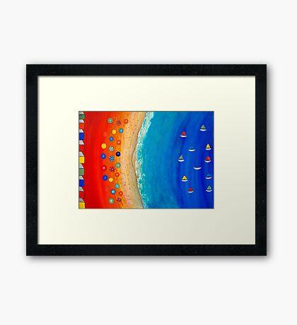 Unassuming 1V Framed Print
