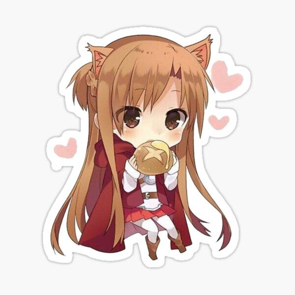 Cute Asuna - Swort Art Online Sticker