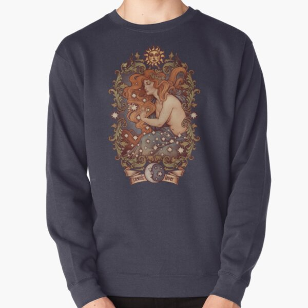 COSMIC LOVER - Version couleur Sweatshirt épais