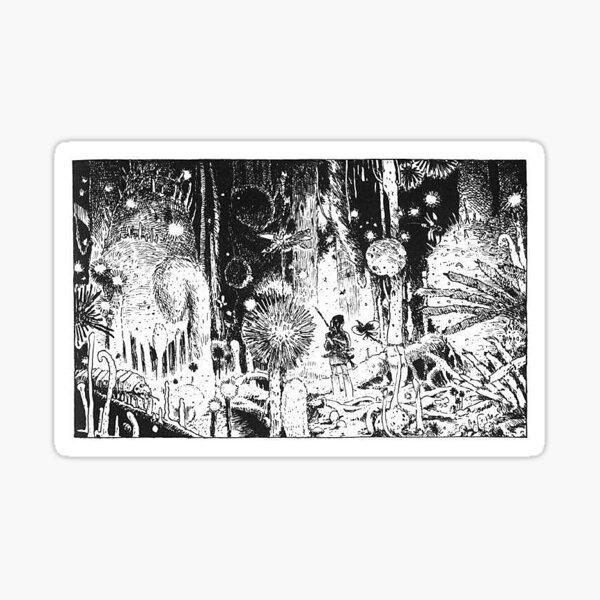 Nausicaa and the Poison Forest  Sticker