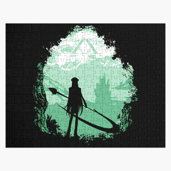 Illumi Jigsaw Puzzles Redbubble Gungi the wookiee had been shuttled to the wookiee home world, where he would go into the dark area of the forest called the shadowlands with an elder guide guiding him at the beginning, and hunt down and defeat a katarn beast that had been terrorizing the younger wookiee hunters in the forest. illumi jigsaw puzzles redbubble