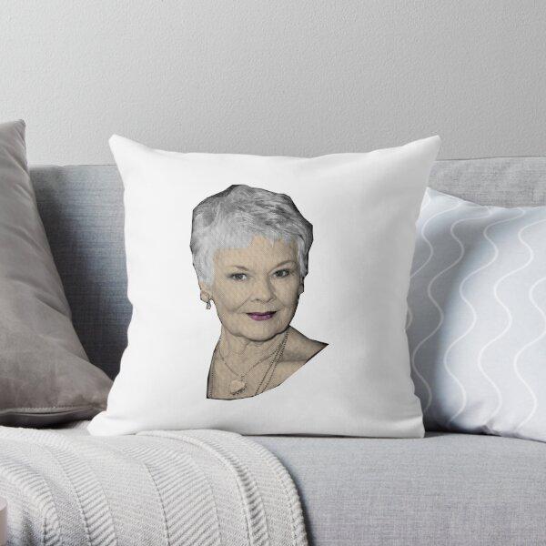 Judi - The Great Dames Throw Pillow