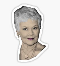 Judi - The Great Dames Sticker