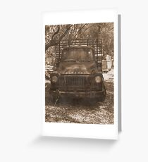 Bedford Truck Greeting Card