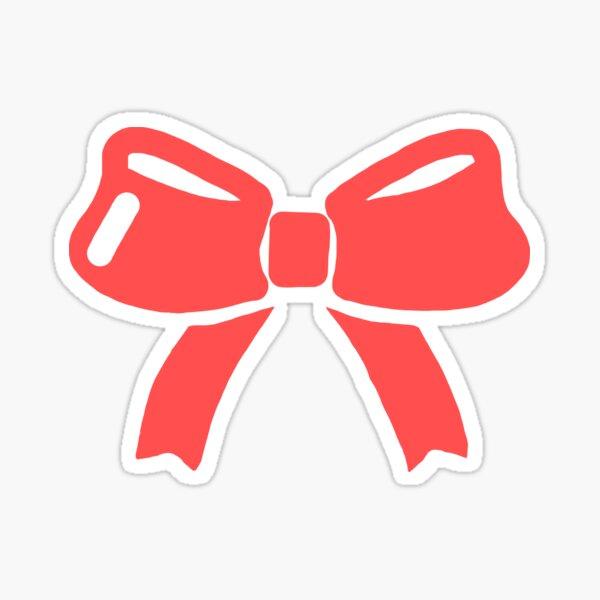 Red Ribbon Sticker