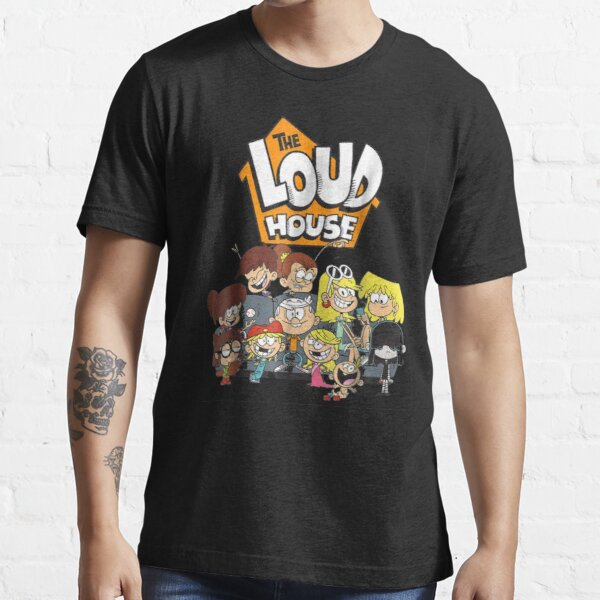 Nickelodeon The Loud House Personaje Camiseta esencial