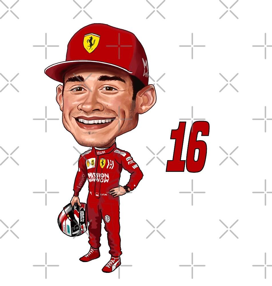 Charles LeClerc 2020 Ferrari by mal108