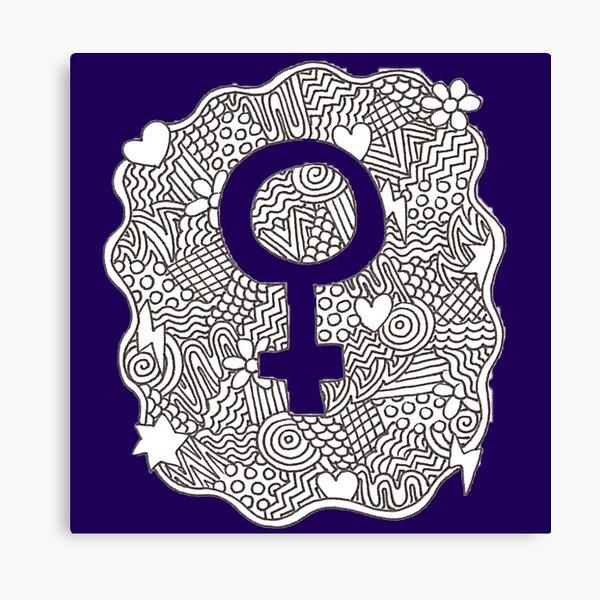 Female Symbol Canvas Print