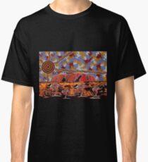 Uluru | Ayers Rock - Authentic Aboriginal Arts Classic T-Shirt