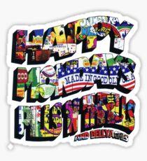 HAPPY MONDAYS PILLS 'N' THRILLS AND BELLYACHES Sticker