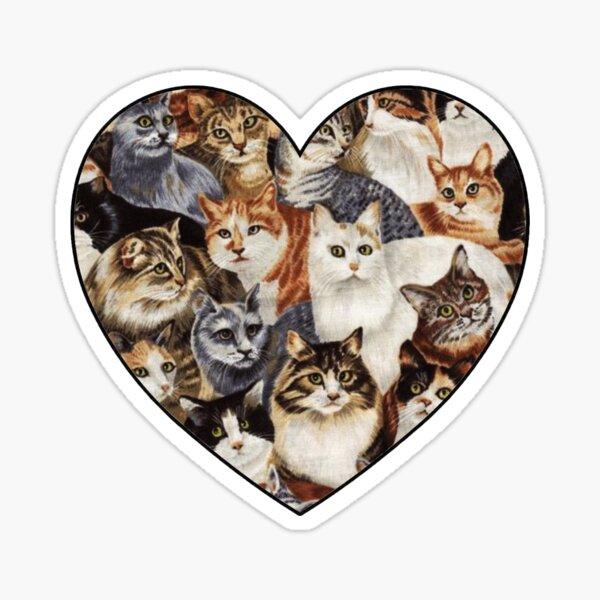 All The Kitties Sticker