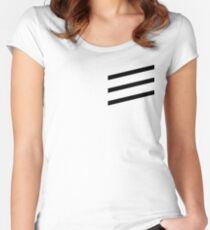 black³ Women's Fitted Scoop T-Shirt