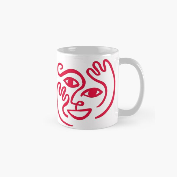 Happy Red Classic Mug