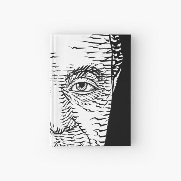 AUGUSTE COMTE ink portrait Hardcover Journal