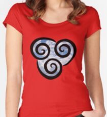 Airbending - Avatar the Last Airbender Women's Fitted Scoop T-Shirt