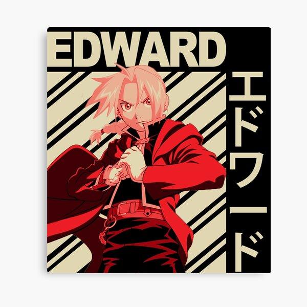 Anime Aesthetic Fullmetal Alchimist Edward and Alphonse Canvas Gallery Wraps