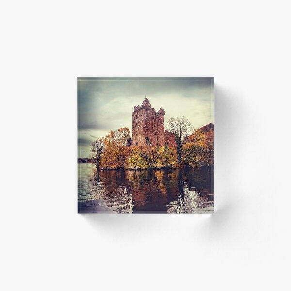 Castle Loch Ness Acrylic Block