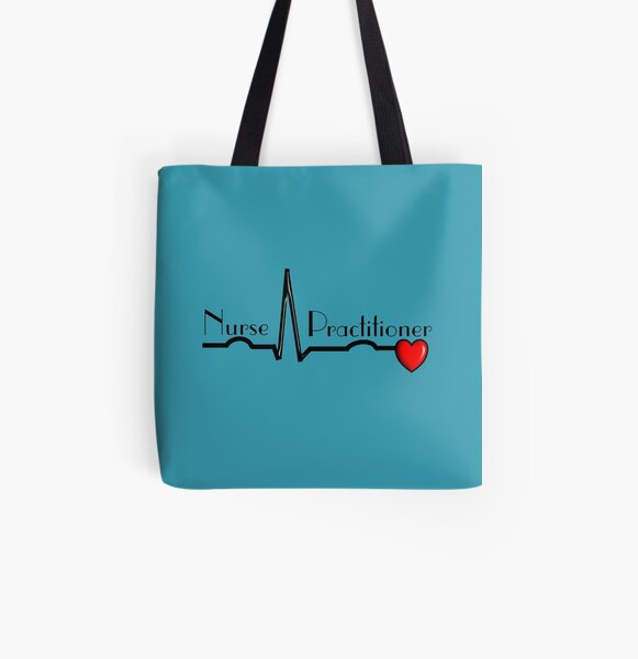 Nurse Practitioner All Over Print Tote Bag