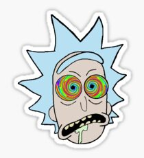 Rick and Morty Spaced 1 Sticker