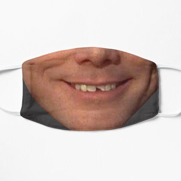 Jim Carrey Dumb and Dumber  face protection mask Flat Mask