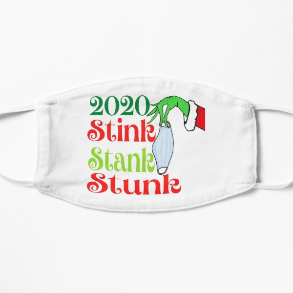 2020 Stink Stank Stunk Greeting QUARANTINE Mask