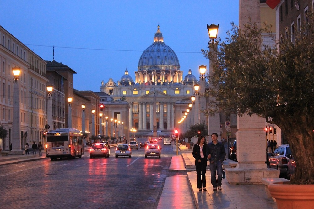 The Vatican at Twilight by Dave Austin