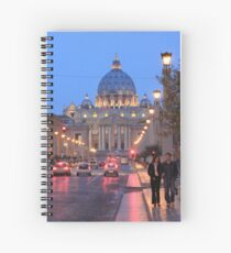 The Vatican at Twilight Spiral Notebook