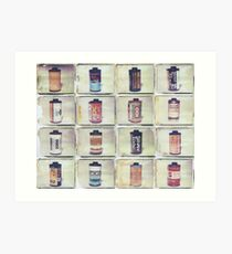 Film Collage #4 Art Print