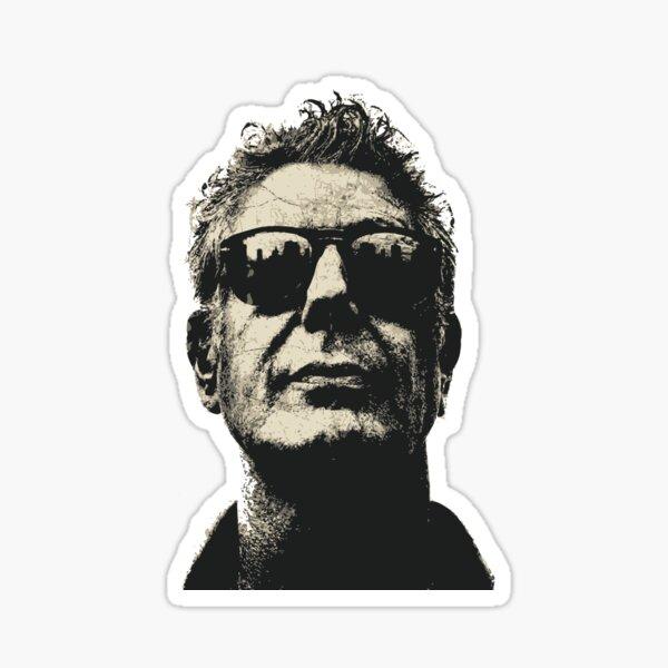 Anthony Bourdain - Face Sticker