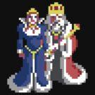 Battle Chess - Retro pixel art DOS game fan shirt by hangman3d