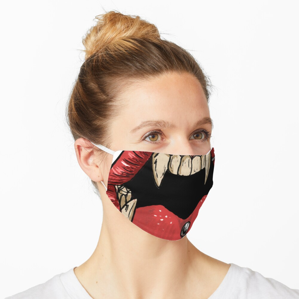 Piercing mouth  Mask