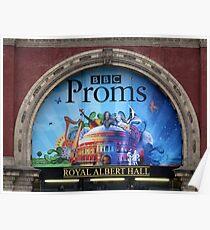 BBC Proms at The Royal Albert Hall Poster