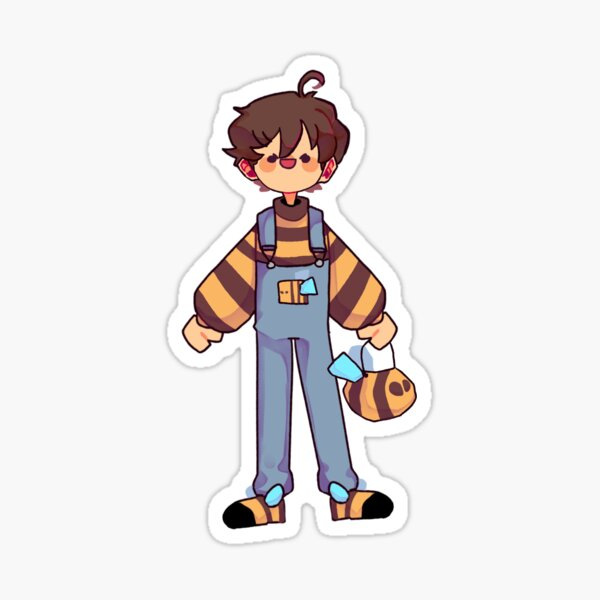 Bumblebee Tubbo! Sticker