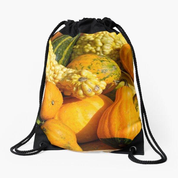 Photo of Colorful Pumpkins Drawstring Bag