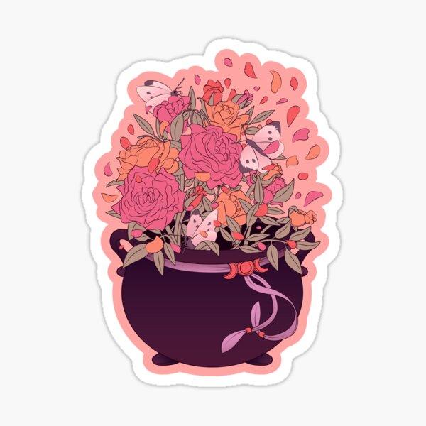 Crafty Witch: Cauldron Sticker